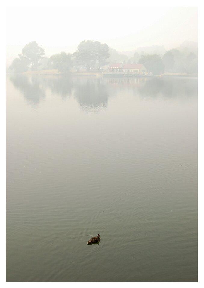 Early morning Lake Daylesford.