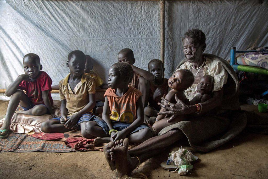 Family South Sudan PHOTO ILANA ROSE